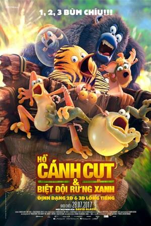 Hổ, Cánh Cụt Và Biệt Đội Rừng Xanh - The Jungle Bunch
